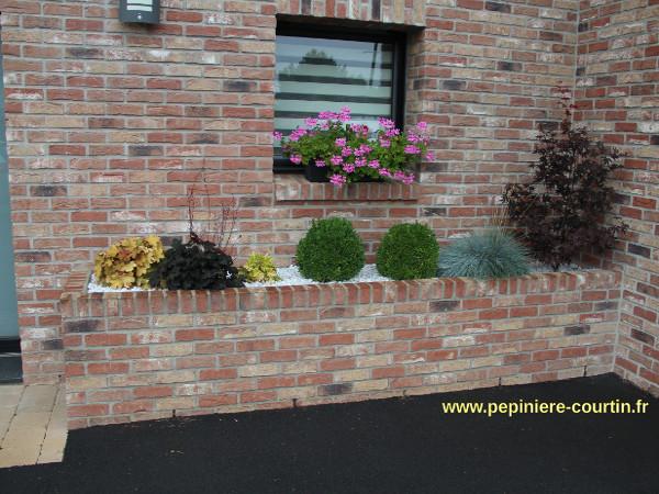 aménagement d'une jardinière